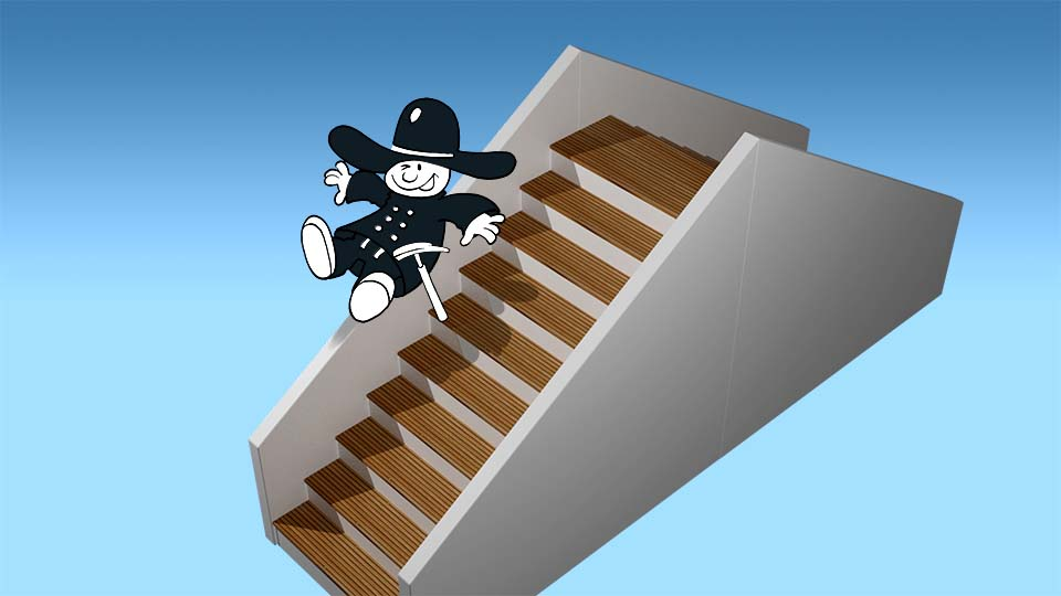 Zimmerei Elwardt - Treppen - Illustration