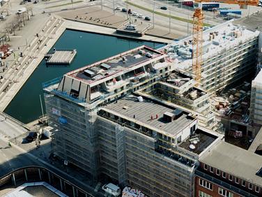 Bauprojekt in Kiel