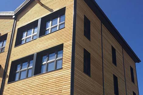 Zimmerei Elwardt - Fassadenbau