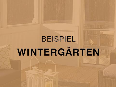 Zimmerei Elwardt - Wintergarten